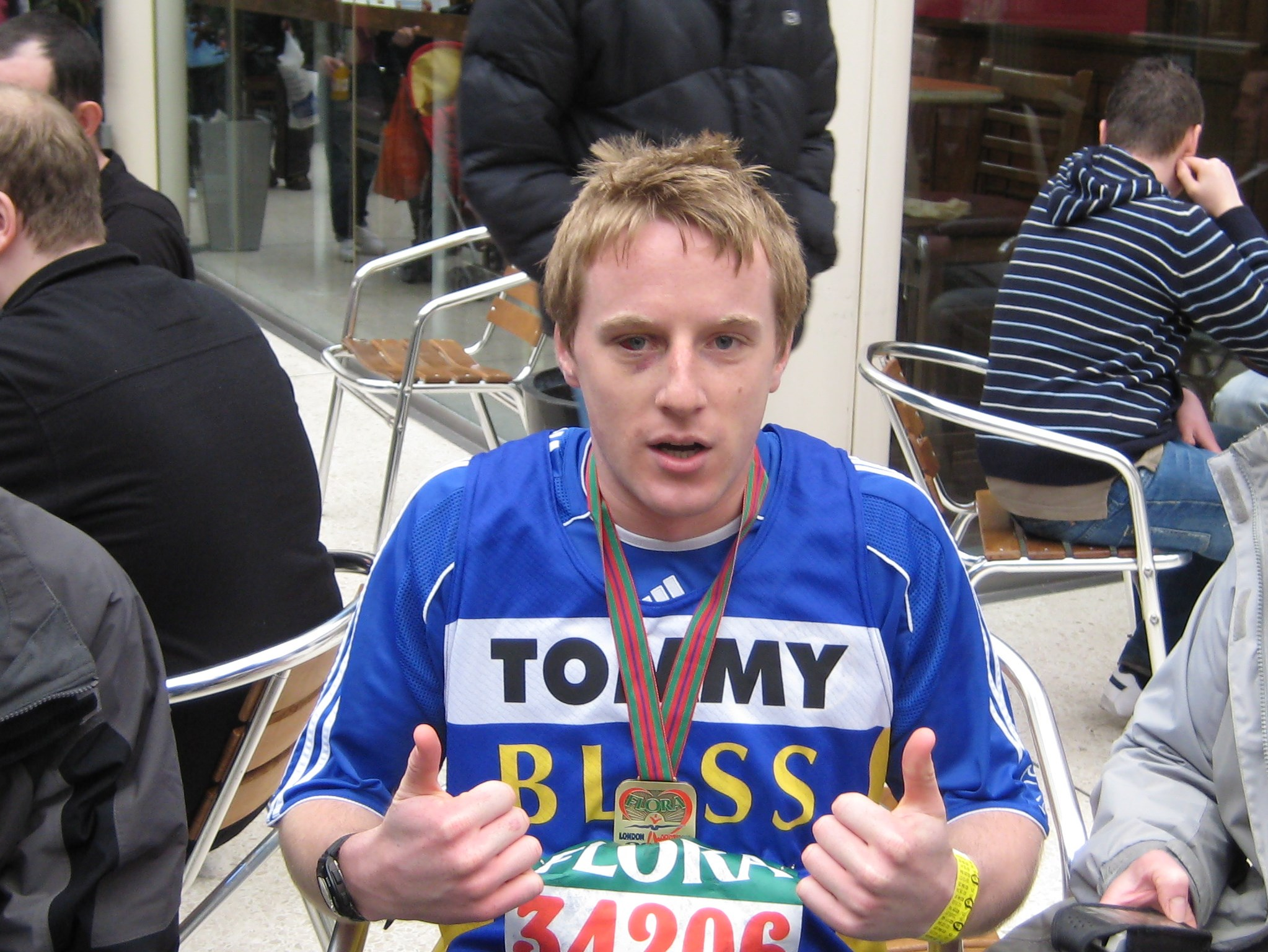 London Marathon 2008 - Months of hard work paid off, a memorable event I will remember forever