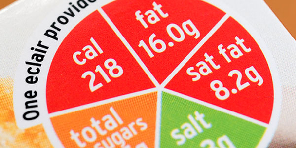 It is now much easier to collect calorific content information in the food we eat