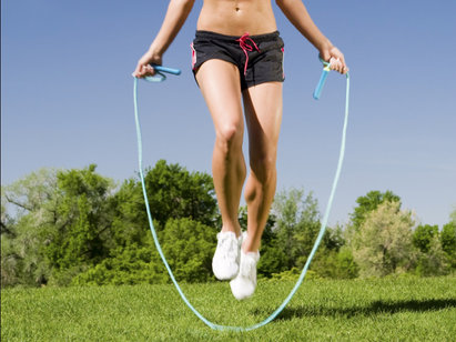 Skipping - one of the most versatile ways to burn calories anywhere, anytime